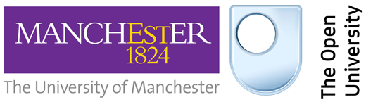 University of Manchester and Open University combined logo
